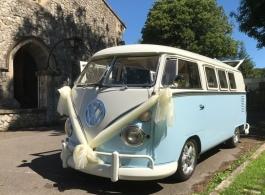 Classic Campervan for weddings in Broadstairs